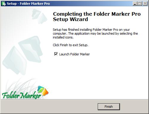 تغير ألوان وأشكال الملفات مع برنامج Folder Marker