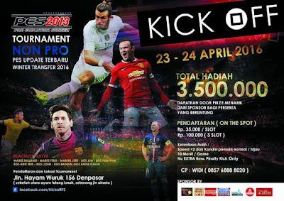 Kompetisi PES 2013 di Bali April 2016