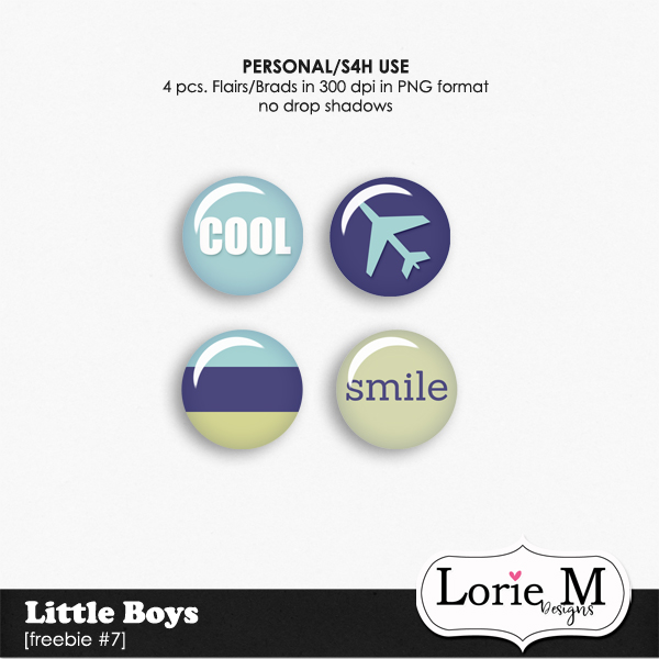 "New ""Little Boys Collection"", BBD, FWP Offer + Freebie"