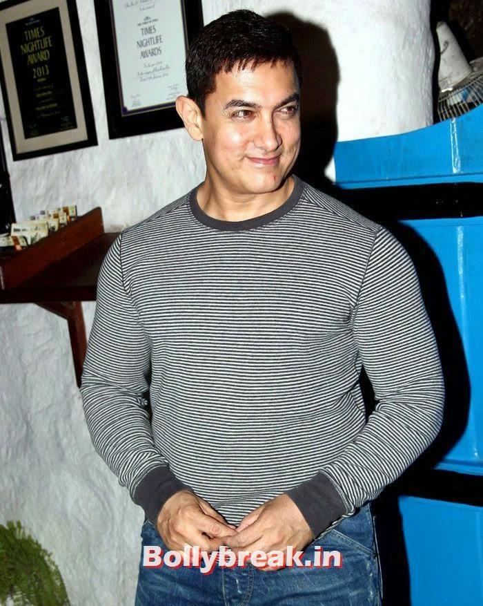 Aamir Khan, Heropanti Success Party