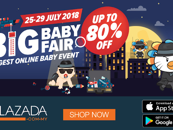 Borong Pampers dan Barang Baby di Big Baby Fair Lazada