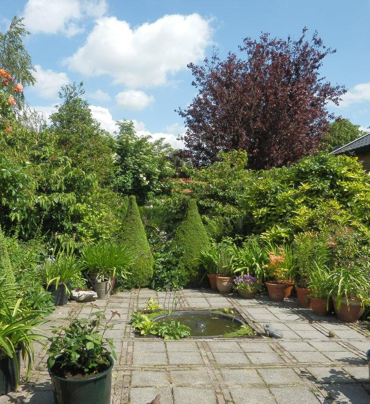 Het bloeiende buitenleven het tuinontwerp deel ii design part ii - Bassin tuin ontwerp ...