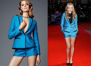 Amanda Siegfried wearing H & M @ In Time premiere
