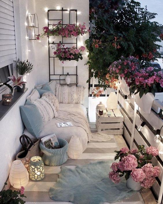 Ιδέες για γλάστρες-φυτά σε Μικρά Μπαλκόνια