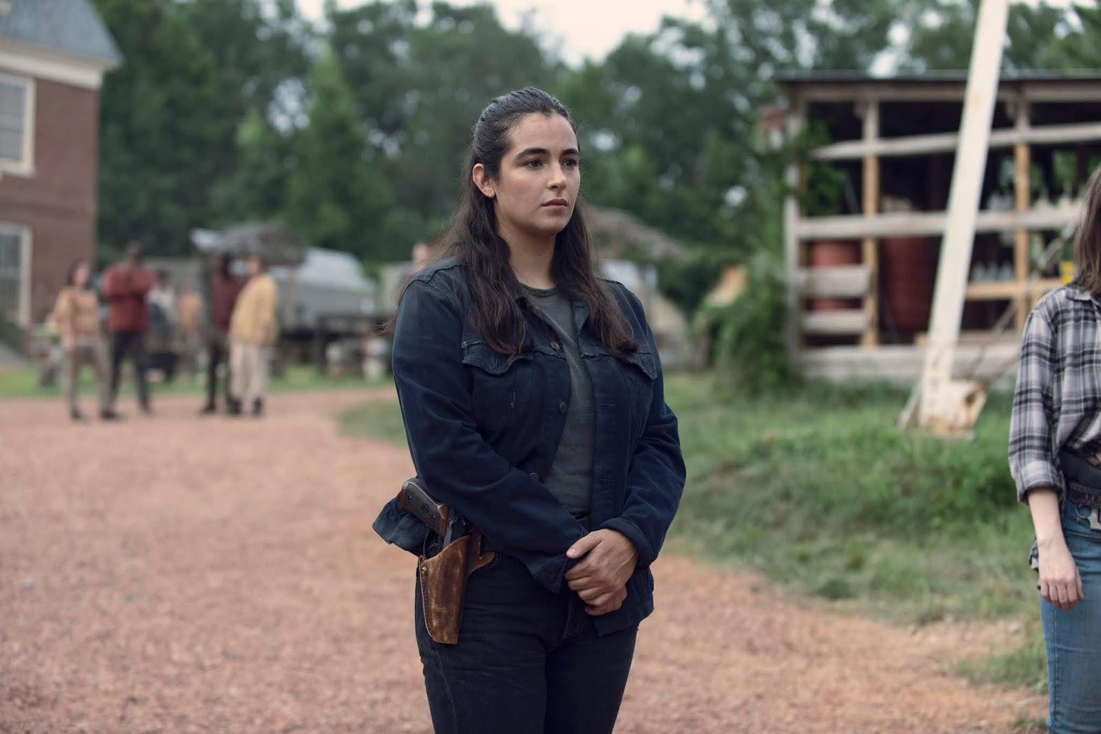Tara, en el episodios 9x08 Evolution de The Walking Dead