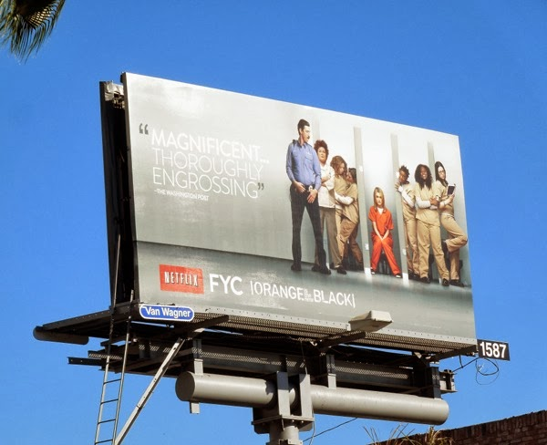 Orange Is the New Black FYC billboard