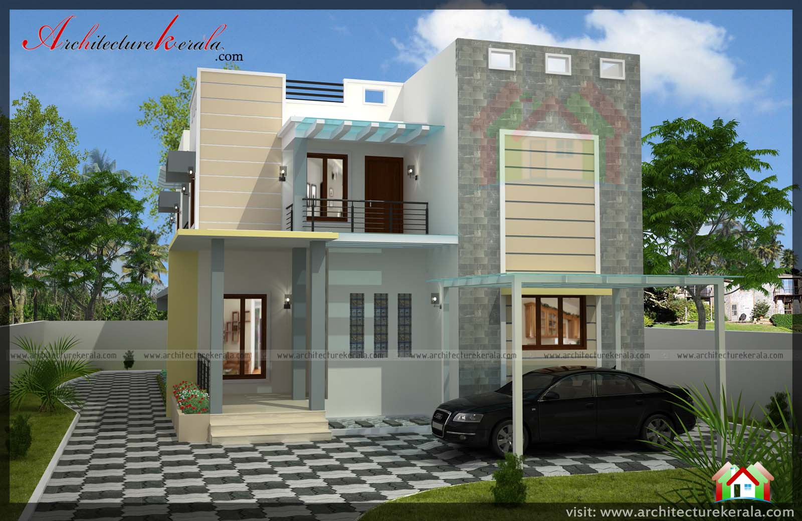 architecture%2Bkerala%2B265 - 27+ 4 Bedroom Small House Design Pics