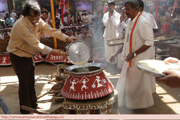 Handi Prasad at Ramnavami