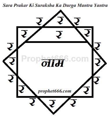 Har Prakar Ki Suraksha Ka Durga Mata Yantra