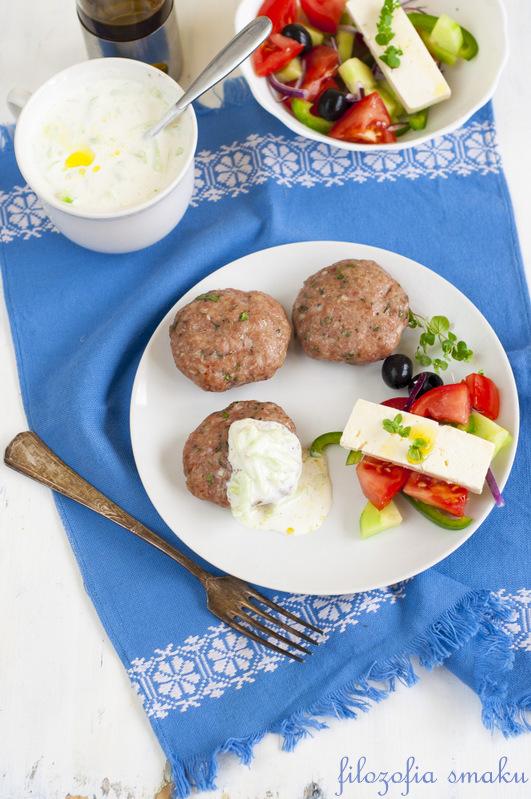Greckie burgery ziołowe