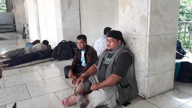 Bermodal Rp400 Ribu Agus Sambangi Jakarta Untuk Ikut Demo Muslimina