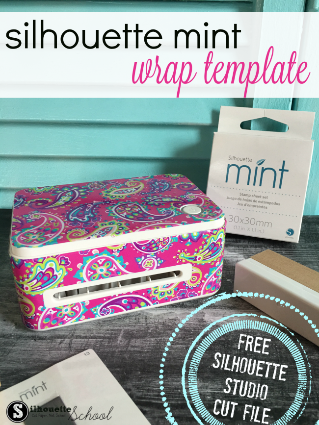 silhouette mint stamp machine, silhouette mint, free silhouette mint wrap