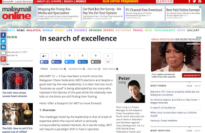 Malay Mail Online: In Search Of Excellence
