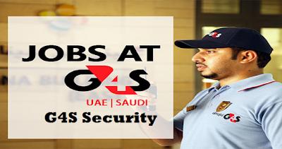 G4S Security Jobs in Dubai