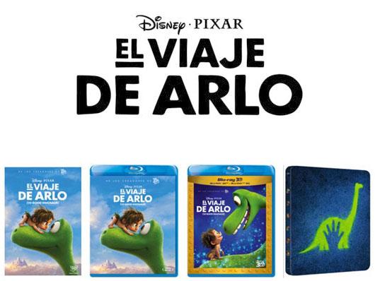 A la venta 'El viaje de Arlo' en DVD, Blu-ray, Blu-ray 3D y edición metálica
