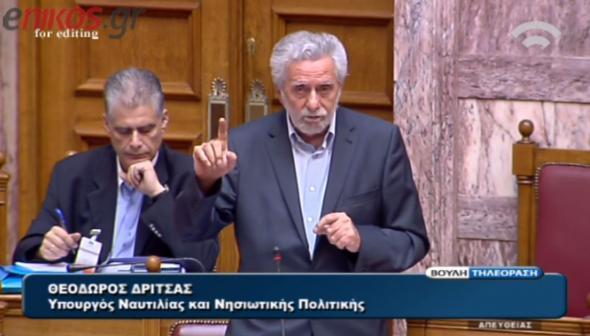 Δρίτσας: Δεν έκανε καμία κίνηση η κυβέρνηση στα μουλωχτά - ΒΙΝΤΕΟ