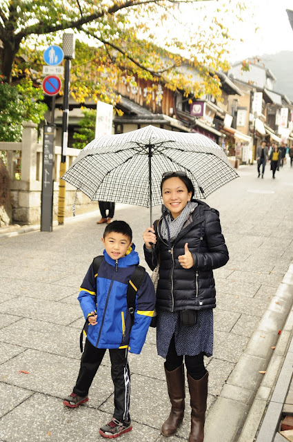 Kyoto travel with kids kiyomizu dera
