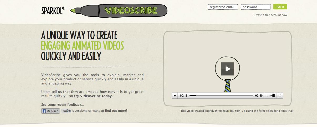 Guamodì Scuola: Sparkol Video Scribe: crei presentazioni