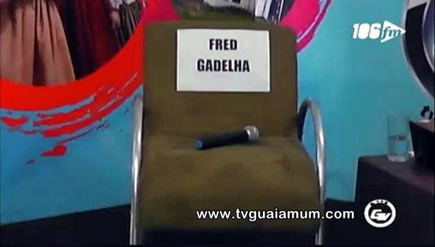 Fred Gadelha não compareceu a entrevista na TV Guaiamum