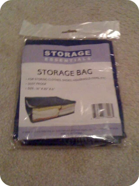 So I Ended Up Using 10 Of The Storage Bags. Grand Total Of $10.