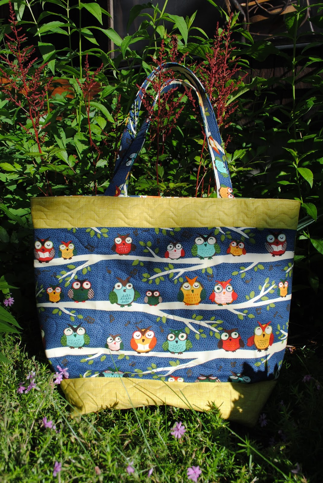 Sweet Jane S Quilting Simple Owl Tote Bag Tutorial
