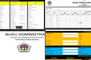 21 Komponen Aplikasi Administrasi Guru Kurikulum 2013