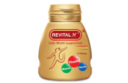 Revital H 30 Capsules For Rs 230 (Mrp 280) at Amazon