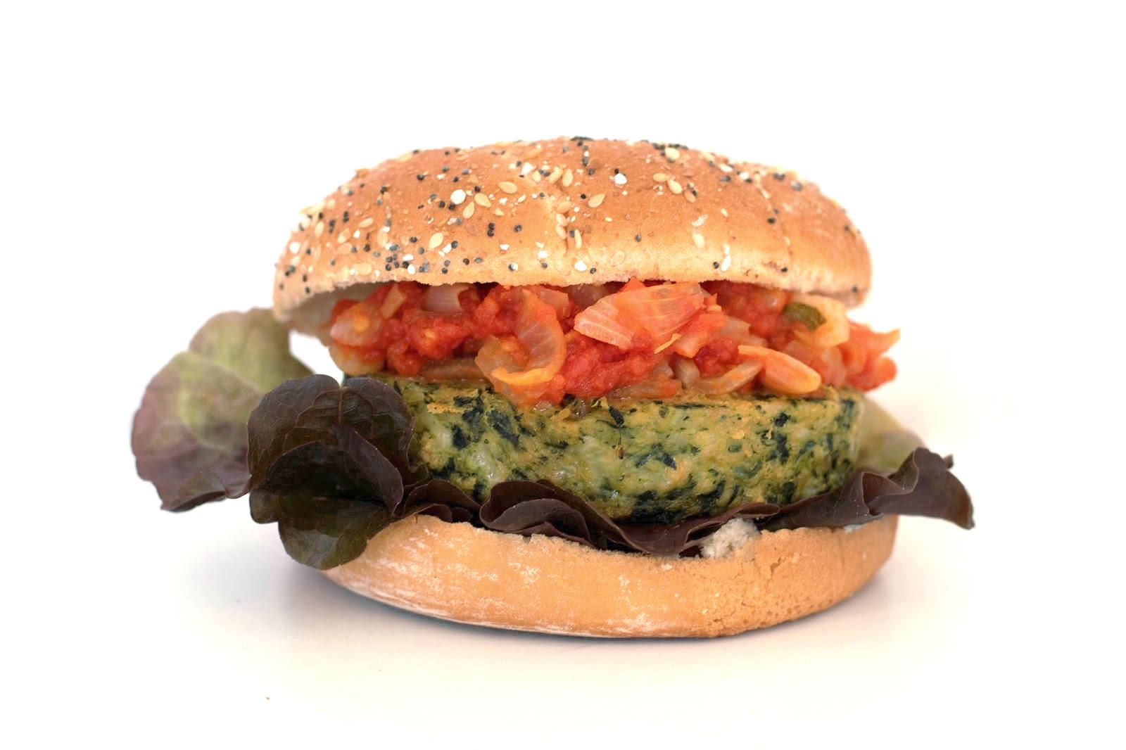 recette burger galette Carrefour Veggie