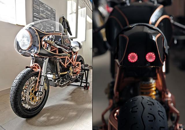 """Ducati Monster độ Cafe Racer với """"vị đắng"""" từ Italia"""