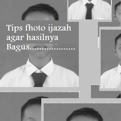 10 Tips agar hasil fhoto ijazah dam KTP  kamu bagus dan sempurna