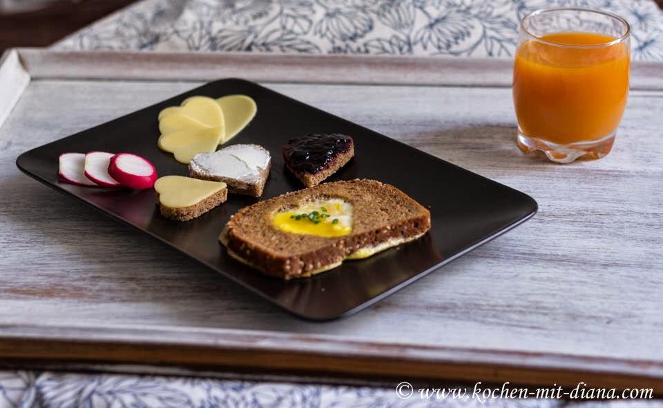 Herzen zum Frühstück