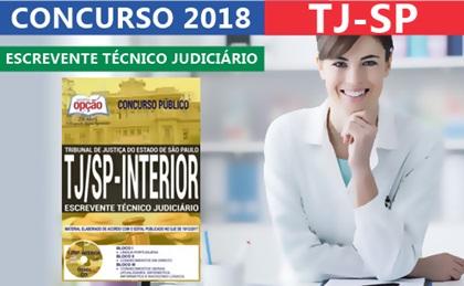 Apostila Concurso TJ-SP 2018