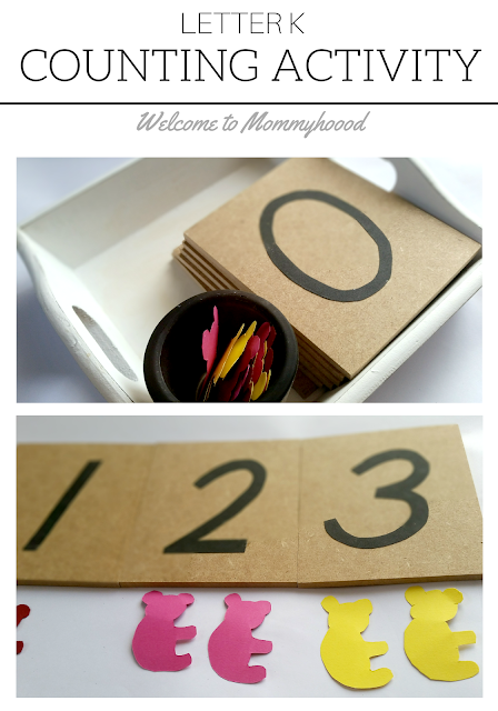 Tot Labs presents Letter of the Week: Letter Kk activities  by Welcome to Mommyhood, #preschoolactivities, #montessoriactivities, #montessori, #handsonlearning, #letteroftheweek, #lotw, #freeprintables