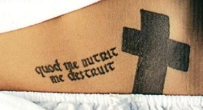 Letter Q tattoos...U Letter Design Tattoo