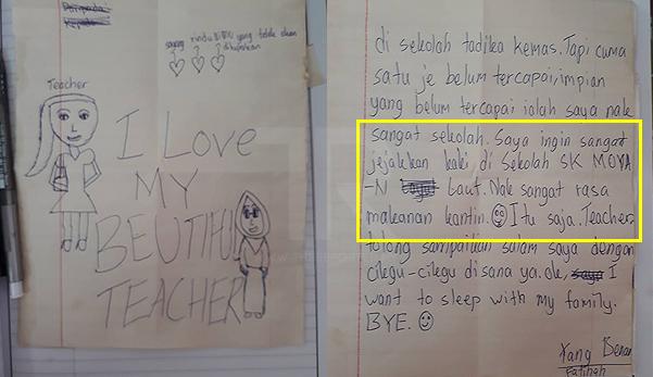 'Saya ingin sangat jejakkan kaki ke sekolah tetapi..'