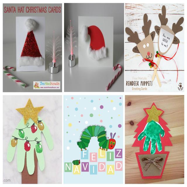 100 Manualidades De Navidad Para Ninos Mundo De Rukkia - Manualidades-de-tarjetas-de-navidad