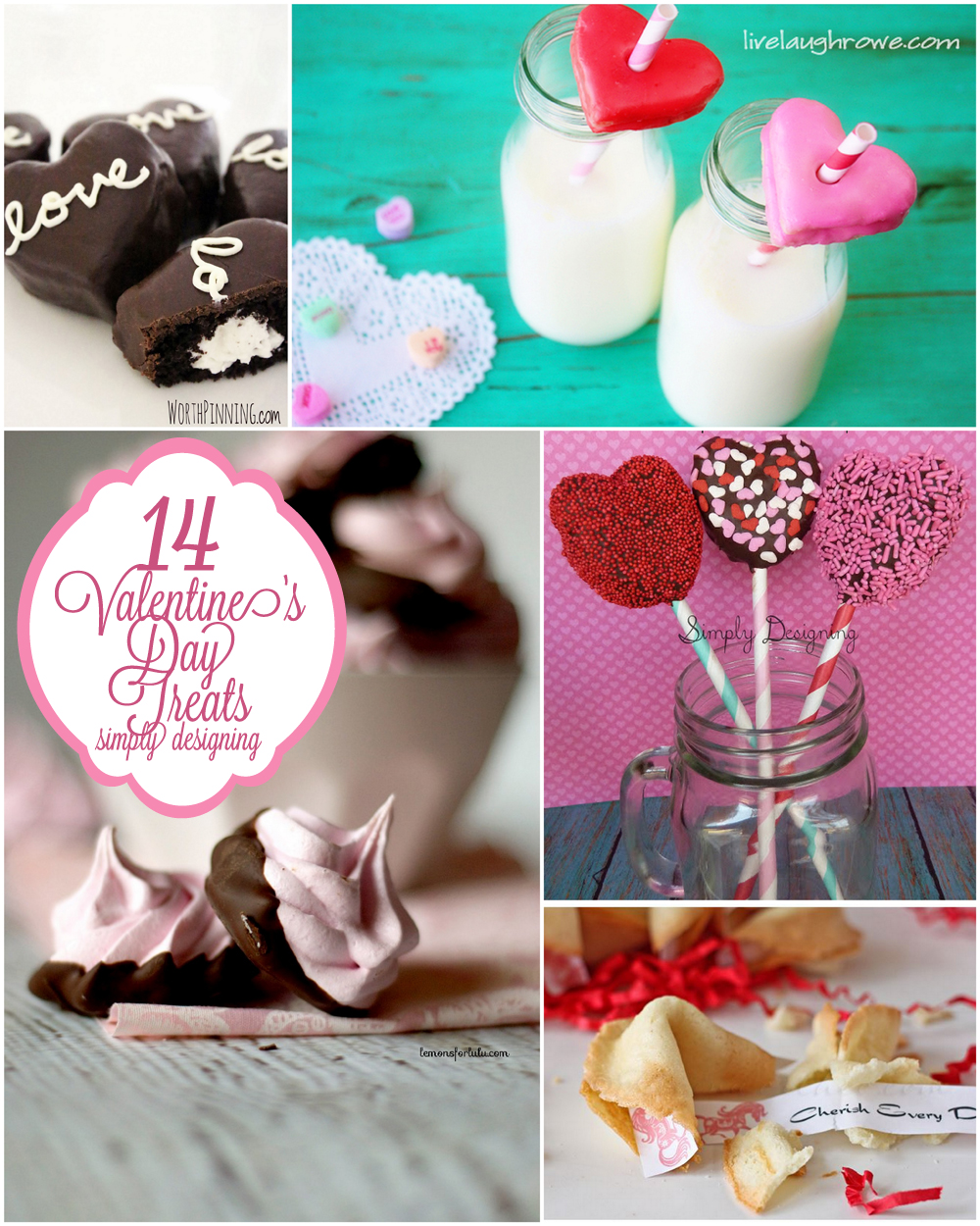 14 Valentine's Day Treats | #valentinesday #vday #recipes