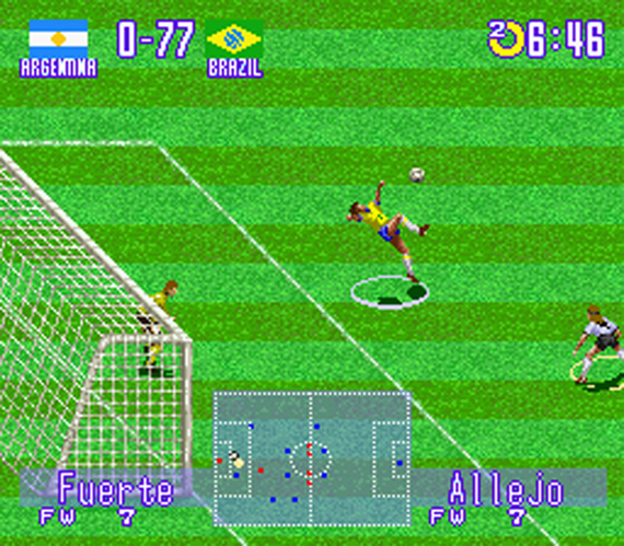 Games que marcaram - Ronaldinho Soccer - Allejo
