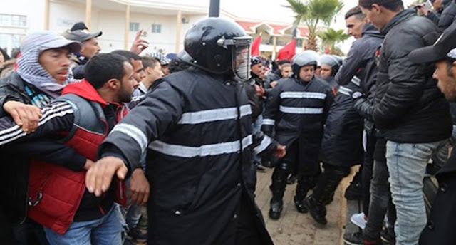 غداة مقتل شخصين، هيومن رايتس ووتش تنتقد المغرب.. قمع احتجاجات جرادة وسوء معاملة المعتقلين