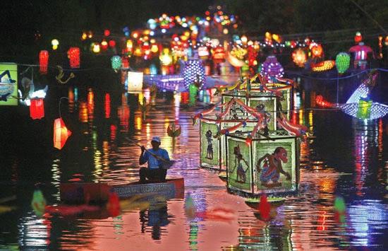 Festival Lampion Akan Terangi Sungai Kalimas Swaraguna Media