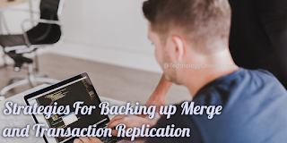 Strategies For Backing up Merge and Transaction Replication
