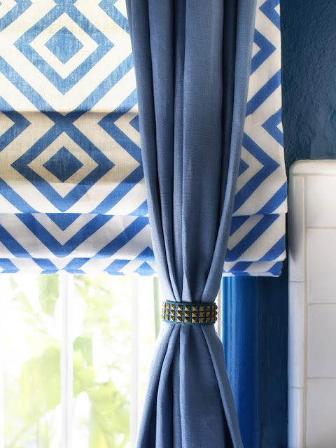 Modern furniture creative ways to make a curtain hardware - Unique ways to hang curtains ...