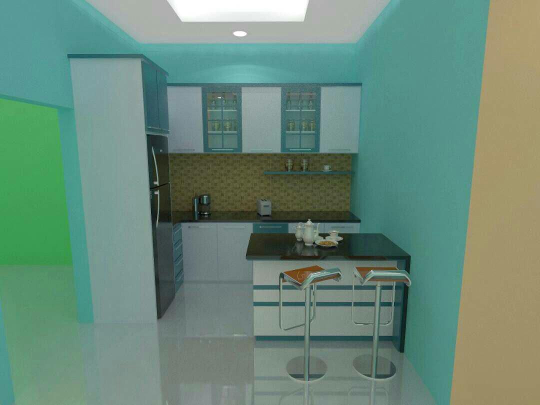 Rajaya Interior : Harga Dan Desain Kitchen Set Minimalis Untuk ...