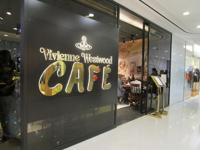 ヴィヴィアンウエストウッドカフェ 店舗入り口