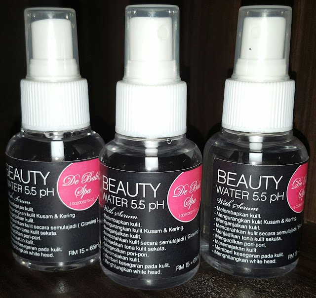 BEAUTY WATER 5.5pH WITH SERUM