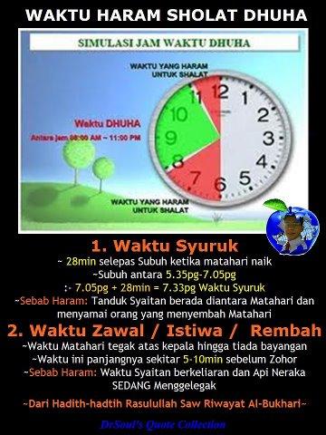 Waktu Solat Dhuha Selangor 2018 Tauran U