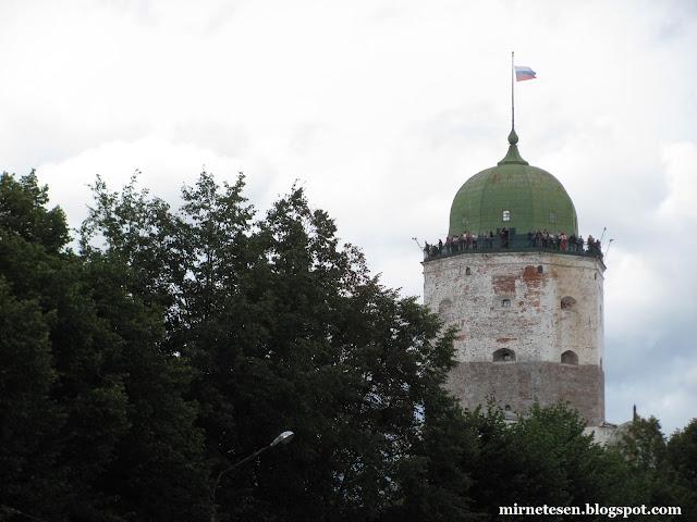 Выборгский замок - Выборг, Россия