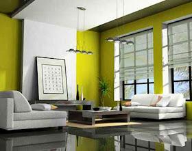 gambar dekorasi furnitur rumah minimalis desain sempit