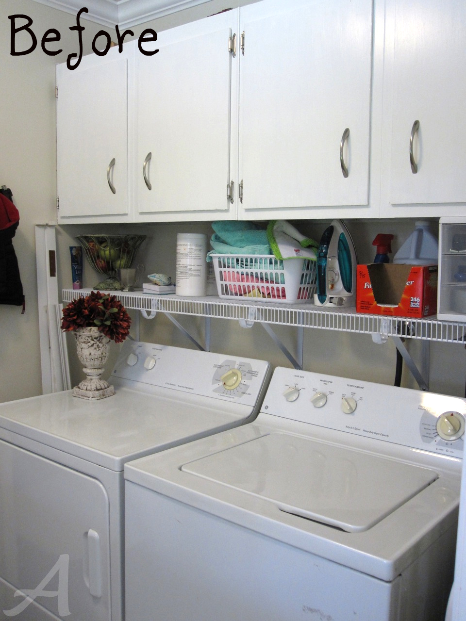 Getting Organized The Laundry Room tips and tricks
