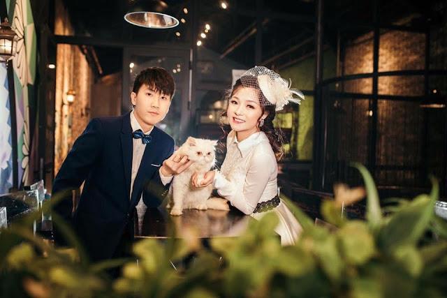 Boss chiếm spotlight trong bộ ảnh cưới của sen